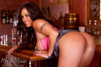 Hot Latina Mariah In Pink Lingerie 13