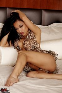 CJ Miles Sexy Leopard Lingerie 03