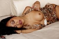 CJ Miles Sexy Leopard Lingerie 13