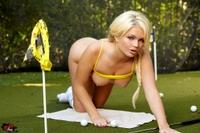 Alexis Ford Tees Off Bikini Style 15