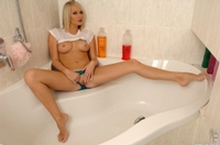 Showering With A Hot Blonde 07