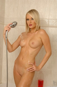 Showering With A Hot Blonde 10