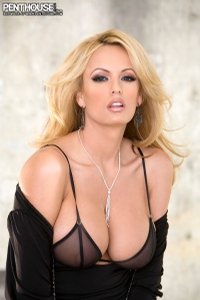 Stromy Daniels Black Dress 03