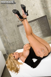 Stromy Daniels Black Dress 05