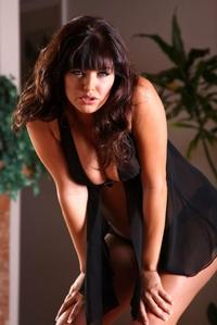Sadie West Black Lingerie 01