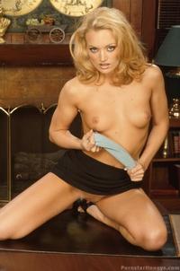 Sexy Blonde Pornstar 01