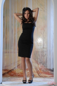 Yurizan Black Dress 03
