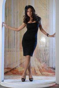 Yurizan Black Dress 12