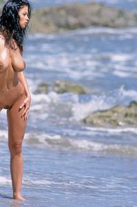 Veronika Naked At The Beach 00