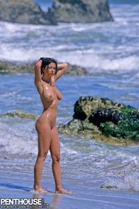 Veronika Naked At The Beach 01