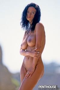 Veronika Naked At The Beach 07
