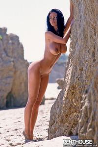 Veronika Naked At The Beach 09