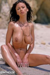 Veronika Naked At The Beach 14
