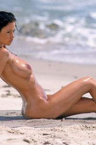 Veronika Naked At The Beach 16