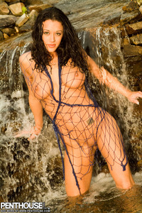 Michelle Ramos Nude At The Waterfall 14