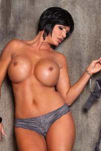 Busty Tattooed Penthouse Pet Shay Fox Getting Nude 11