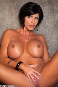 Busty Tattooed Penthouse Pet Shay Fox Getting Nude 20