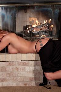 Nikki Sims Long Black Dress 01