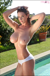Lana Kendrick Big Breasted Pool Babe 11