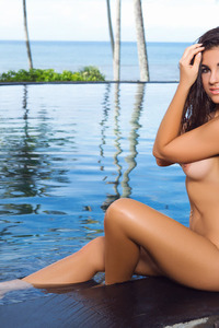 Jessica Ann Naked Siren In The Pool 09