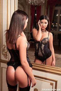 Milica Posing Before The Mirror 00