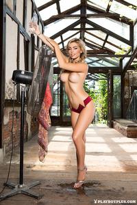 Anika Shay Posing Red Bikini 05