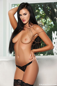 Ashleigh Hannah Playmate Stripping 12