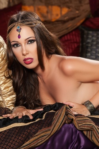 Oriental Bellydancer Queen Jenna Sativa 08