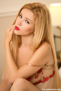 Blonde Playmate Marianna Merkulova Is The Gift Of Today 01