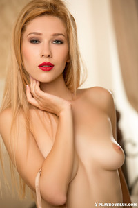 Blonde Playmate Marianna Merkulova Is The Gift Of Today 03