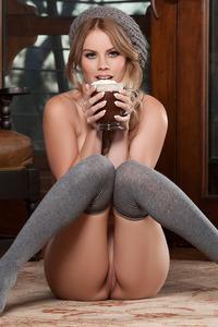 Alana Wolfe Chocolate Enjoying 14