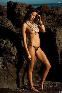 Jo Garcia Nude On The Beach 00