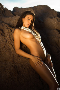 Jo Garcia Nude On The Beach 04