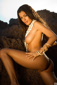 Jo Garcia Nude On The Beach 05