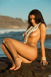 Jo Garcia Nude On The Beach 06