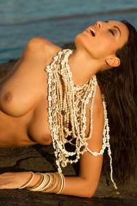Jo Garcia Nude On The Beach 09