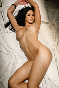 Melany Denyse Gets Nude On A Bed 05