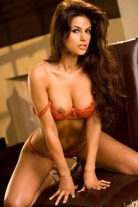 Amazing Latina Playmate Tasha Nicole 01