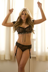 Lacy Spice In Sexy Black Lingerie 00