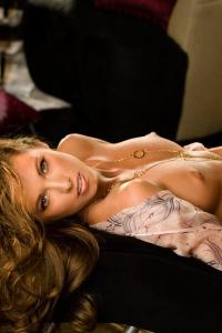Sexy Brunette Playmate Jennifer Lewis 10