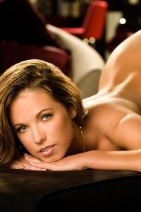 Sexy Brunette Playmate Jennifer Lewis 11