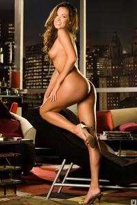 Sexy Brunette Playmate Jennifer Lewis 14