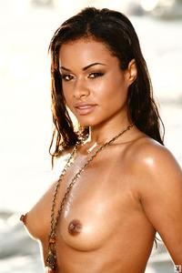 Antoinette Alexis On The Beach 03