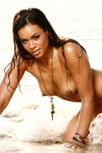 Antoinette Alexis On The Beach 11