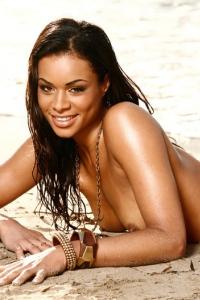 Antoinette Alexis On The Beach 13