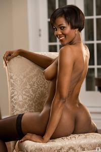 Sexy Ebony Playboy Babe Chernise Yvette 08