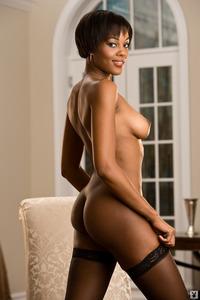 Sexy Ebony Playboy Babe Chernise Yvette 11