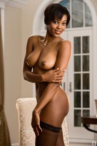 Sexy Ebony Playboy Babe Chernise Yvette 13