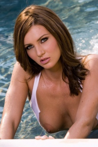 Jillian McCarty Gets Wet In The Pool 07
