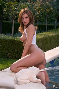 Jillian McCarty Gets Wet In The Pool 09